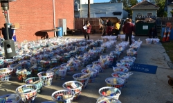 Christmas Basket Distribution 2012