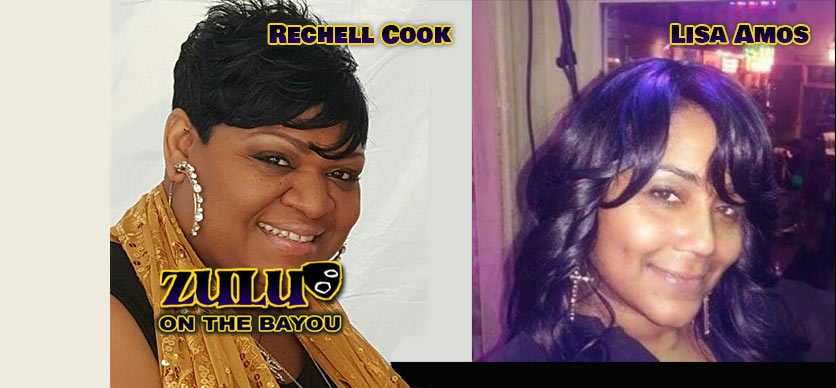 Rechell Cook and Lisa Amos