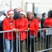 Santa helpers in good cheer